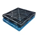 Six runners bottom support plastic pallet mould