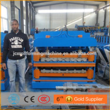 Hydraulic cutting Machine for roof and wall panel