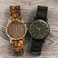 Einzigartige Japan Movt Quarz Zebrawood Holz Uhr für Mann