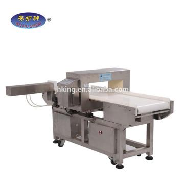 Détecteur de métaux d'aiguille pour le convoyeur d'inspection de sécurité / machine de détecteur d'aiguille / détecteur de métaux complet de nourriture légère