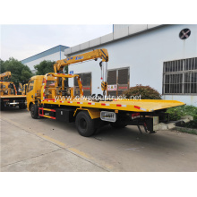 Dongfeng mounted with XCMG 3.2 ton crane