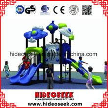 High Quality Plastic Children Outdoor Playground Manufacturer