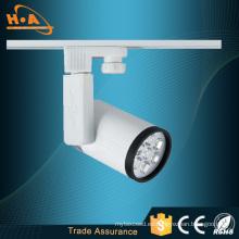 Iluminación de pista LED de alta calidad de 7 * 1W para comerciales