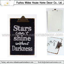 Customized Metal/Wood Clipboard with OEM/ODM
