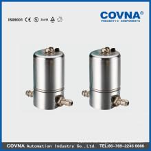 la válvula de solenoide de acero inoxidable de 2 vías, tipo de alimento válvula de solenoide, helado válvula máquina solenoide