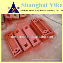 Plaque de concassage à impact durable pour pièces détachées pour impacte à la vente