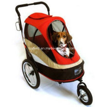 Pet Stroller Cart Cage Carrier Cat Dog Trolley