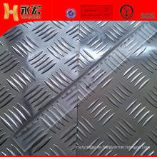 Aluminium Checker Sheet für Schiffsbauer