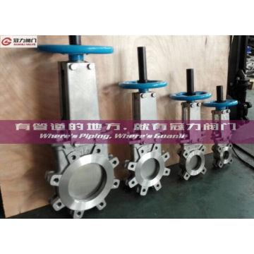 ANSI 16.5 All-Lug Typ Plattenschieber für die Wasseraufbereitung