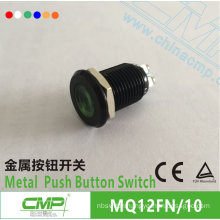 CMP 12mm signal lamp waterproof metal black indicator light