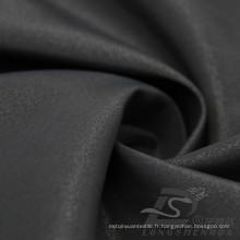 Veste à manches résistant à l'eau et au vent en flan Tissé 100% en polyester Tissu en filament de diamant (X049)
