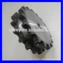 HRSY duplex chain sprocket wheel