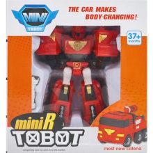 Coche hace cuerpo cambiando juguete robot coche juguete