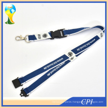 Fashion Customized Exhibition Sublimation Printed Lanyard