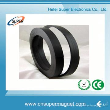 Fornecimento de fábrica Íman de borracha com tira magnética flexível com adesivo de 3 m