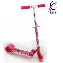 Crianças mini scooter com luz intermitente (bx-3m002)