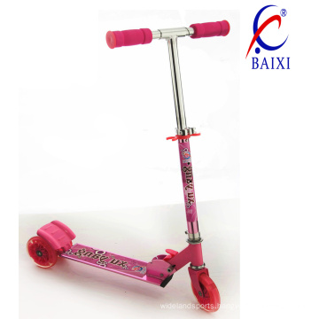 Kids Mini Scooter with Flashing Light (BX-3M002)