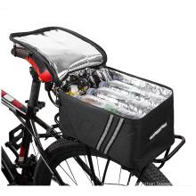 Bicycle Rack Rear Carrier Bag Insulated Trunk Cooler  Waterproof 11L/7L Large Capacity Reflective MTB Bike Pannier Shoulder bag
