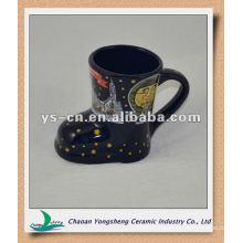 m033 moon pattern pretty christmas cups mugs