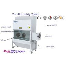 Gabinete de bioseguridad Clase III (BSC-1500IIIX)