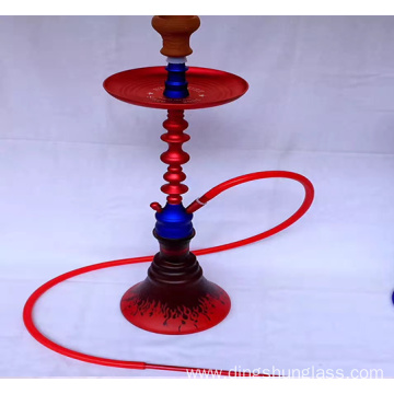 Multi color single pipe hookah