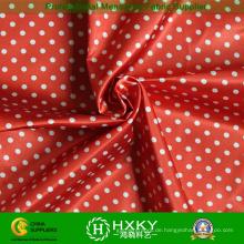 DOT gedruckt mit Polyester Taft Stoff für Jacken & Mäntel