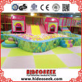 Classicial Indoor Play Equipment with Big Slide