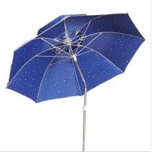 Parapluie de pêche en plein air, parapluie de plage de protection UV