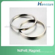 anel de neodímio super permanente ímã N48 com Ni revestido