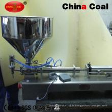Machine de conditionnement remplissante horizontale de bouteille de verre d'une tête