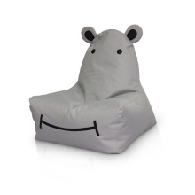 Factory source manufacturing for Animal Bean Bags Kids game room popular bean bag HIPPO export to Bahamas Suppliers