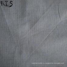 100% хлопок ткани пряжи, окрашенной ткани для майки/платья Rls60-11po