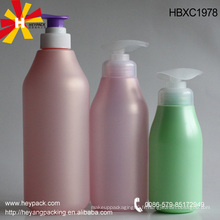 Conteneur vide pour shampooing
