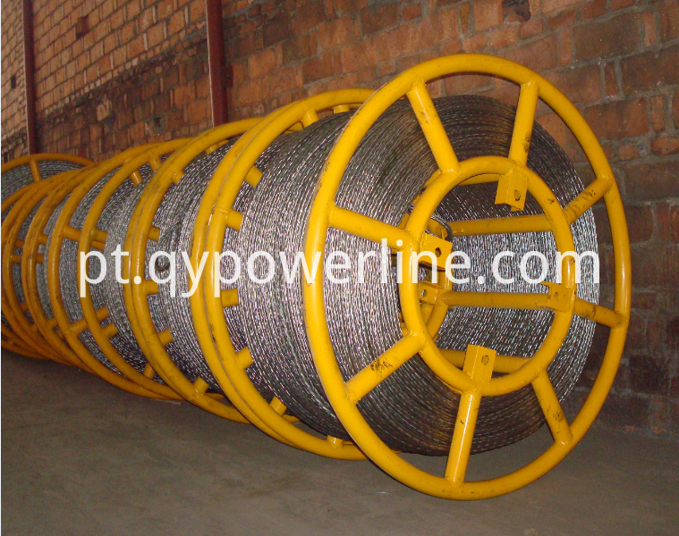 Galvanized Steel Anti-twisting Braided Steel Rope