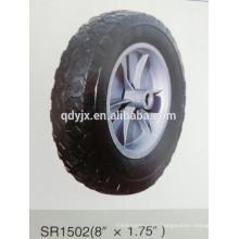 "rueda de goma maciza 8 ""X1.75"""