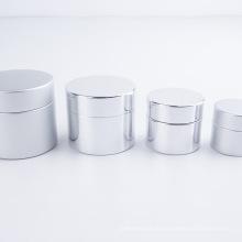 Frasco de cosmético para cuidados com a pele vazio em plástico colunar personalizado