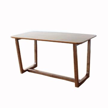Muebles de madera Mesa de oficina de estilo sólido de madera de lujo