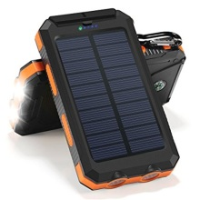Uppladdningsbara Keychain Rohs Solar Power Bank