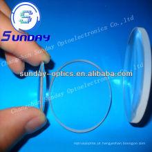 BK7 glass Lente convexa côncava (lente menisco)
