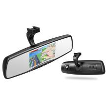 Android coche espejo retrovisor 1080p coche DVR navegación GPS