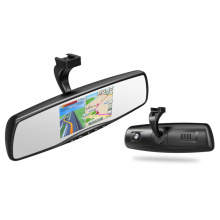 Android Car Rearview Mirror Monitor 1080P voiture DVR Navigation GPS