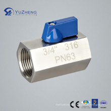 Stainless Steel Mini Ball Valve