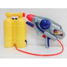 Juguetes de verano pistola de agua de la bomba con mochila (h0102211)