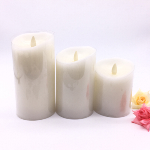 small size moving wick led candle
