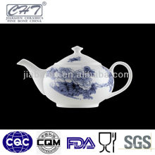 Hot sale decorative bone china porcelain teapot set