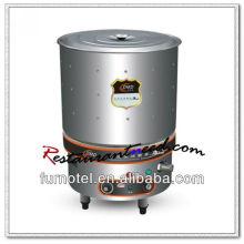 K663 Caldera de sopa de cocina eléctrica con calentamiento directo