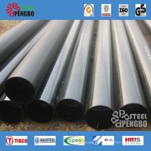 Tubo de acero al carbono soldado negro
