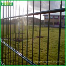 Fabrication d'une clôture en maille soudée à deux côtés