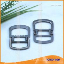 Tamaño interior 25mm Hebillas de metal para zapatos, bolsa o cinturón KR5116