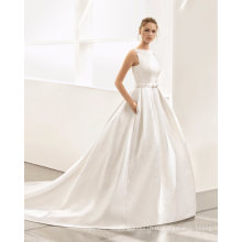 Цветы Вырез V Назад Бальное Платье Свадебное Платье
